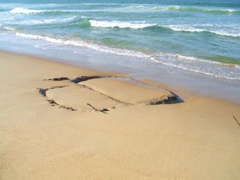 Ressaca na Praia Brava Itajaí - Antigo Posto de salva-vidas
